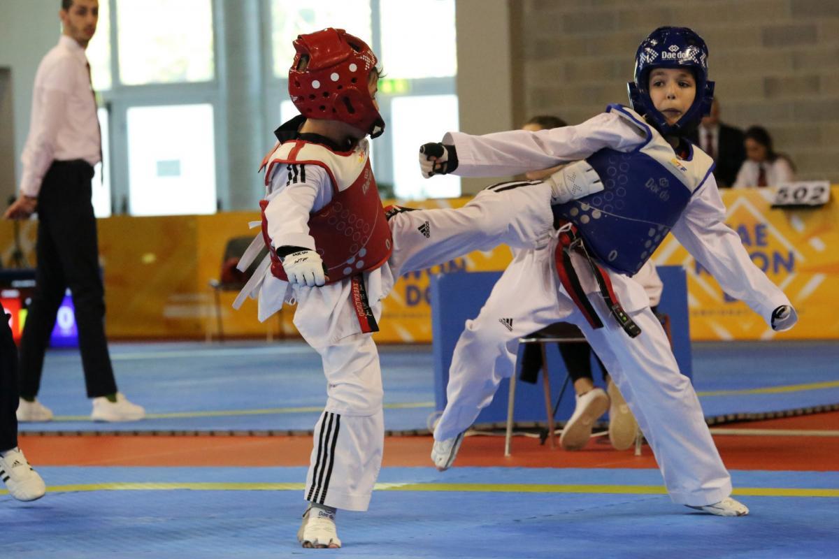 combattimento taekwondo italia trentino misto erer