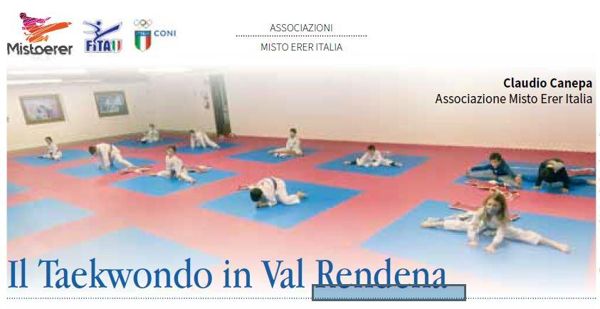 <b>Tae Kwon Do</b> in Val Rendena